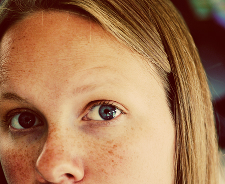 selfportrait-freckles