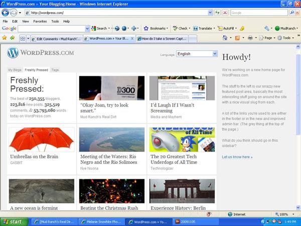 FrontPage---Wordpress!